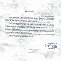 Paweł Korab - Dyrektor hotelu Zamek na Skale