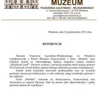 Anita Lewczuk vel Leoniuk - Dyrektor Muzeum Pojezierza Łeczyńsko-Włodawskiego we Włodawie